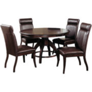 Nottingham Round 5-pc. Dining Table Set