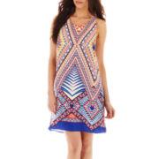 Bisou Bisou® Sleeveless Cross-Back Dress
