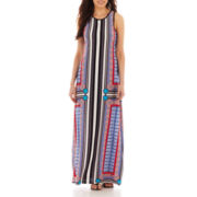 Bisou Bisou® Sleeveless Scoopneck Maxi Dress