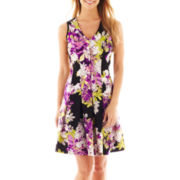 Worthington® Sleeveless V-Neck Dress