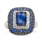 CLOSEOUT! Le Vian® Sapphire and Diamond Ring
