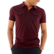 Chalc Burnout Polo Shirt
