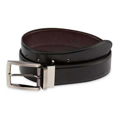 jcpenney.com | IZOD® Black Reversible Belt