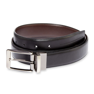 jcpenney.com | Stafford® Reversible Leather Belt–Big & Tall