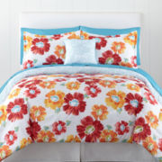 Home Expressions™ Madison Floral 5-pc. Complete Bedding Set with Sheets