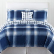 Home Expressions™ Dylan Plaid Complete Bedding Set with Sheets Collection