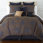 Royal Velvet® Caldwell Jacquard Comforter Set & Accessories