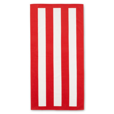 jcpenney.com | JCPenney Home™ Cabana Stripe Beach Towel