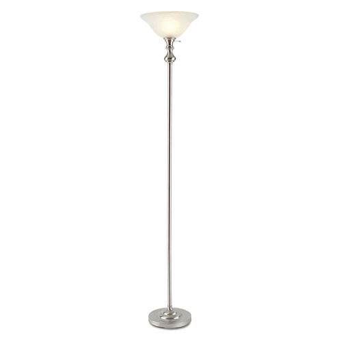 JCPenney Home™ Brushed Nickel Floor Lamp