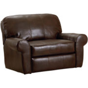 Madison Bonded Leather Snuggler Recliner