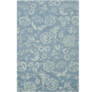 Liz Claiborne® Eden Wool Rectangular Rug