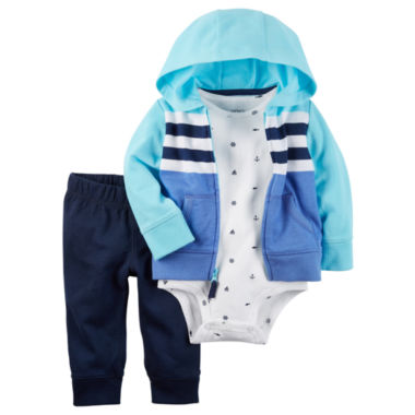 jcpenney.com | Carter's Short Sleeve Cardigan - Baby
