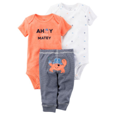 jcpenney.com | Carter's Boys Bodysuit Set-Baby
