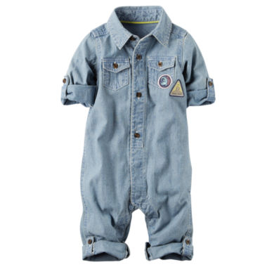 jcpenney.com | Carter's Long Sleeve Jumpsuit - Baby