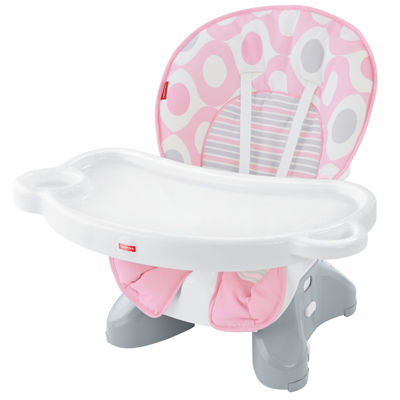Delightful Fisher Price Space Saver High Chair   Pink