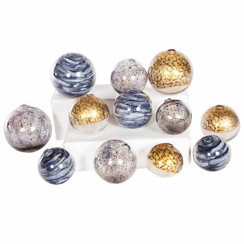 Knox And Harrison 12-Pc. Decorative Ball Set Decorative Balls