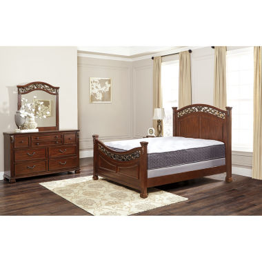 jcpenney.com | Signature Design by Ashley® Leahlyn 3-pc. Bedroom Set + FREE Sierra Sleep Mattress Set