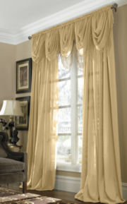 jcp home™ Snow Voile Window Treatments