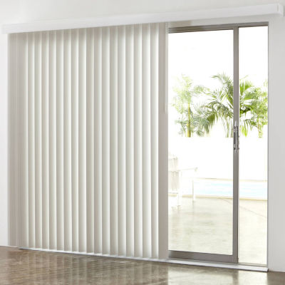JCPenney Home™ 3½ - Vertical Blinds Door Curtains For Window - JCPenney
