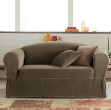 jcpenney.com | Maytex Smart Cover® Collin Stretch 2-pc. Loveseat Slipcover