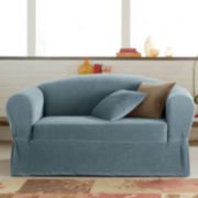Maytex Collin Stretch 2-piece Sofa Slipcover