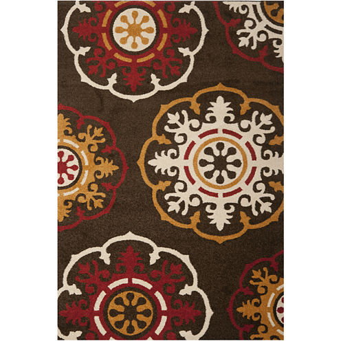 Suzani Rectangular Rug