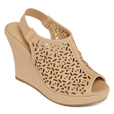 jcpenney.com | CL by Laundry Maja Cutout Wedge Sandals