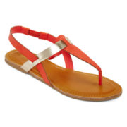 Arizona Aree Colorblock Slingback Sandals