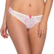 Marie Meili Caitlin String Thong Panties - Plus