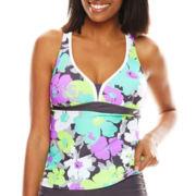 Zeroxposur® Bloom Action Halterkini Swim Top