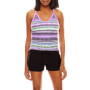 Zeroxposur® Tankini Swim Top, Swim Bottoms or Swim Cover-Up