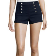 Almost Famous Sailor Mid-Rise Shorts