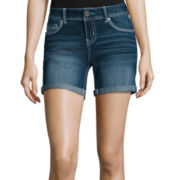 Ariya™ Curvy Denim Low-Rise Shorts