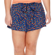 Arizona Low-Rise Wrap Shorts - Plus
