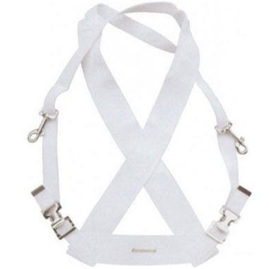 jcpenney.com | Ludwig LF350W White Parade Marching Bass Drum Sling