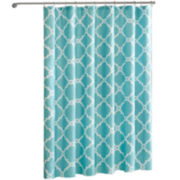 Madison Park Essentials Concord Printed Shower Curtain