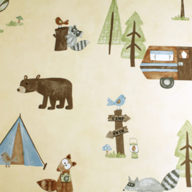 jcpenney.com | Saturday Knight Camping Critters Shower Curtain