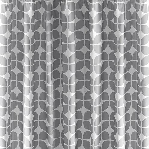 Intelligent Design Gwen Printed Shower Curtain
