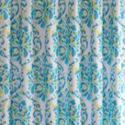 Intelligent Design Dina Printed Shower Curtain