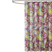 Intelligent Design Kayla Microfiber Shower Curtain