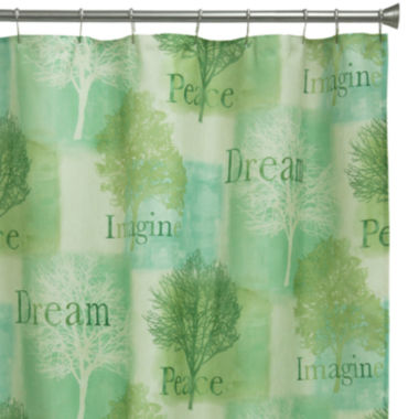 jcpenney.com | Bacova Spa Trees Shower Curtain