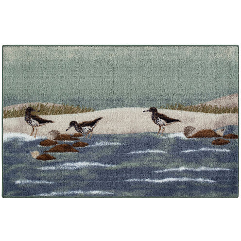 Sandpiper Beach Rectangular Rug