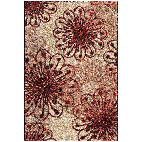 Bonibella Floral Rectangular Rug