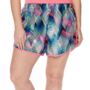 Xersion™ Woven Colorblock Shorts - Plus
