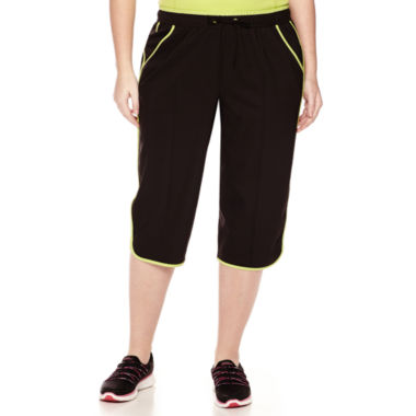 jcpenney.com | Made For Life™ Piped Curve-Leg Capris - Plus