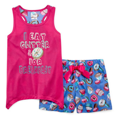 jcpenney.com | Starride Kids Shorts Pajama Set Girls