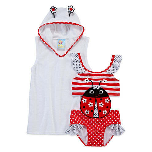Baby Buns One Piece+Cover-Ups-Toddler