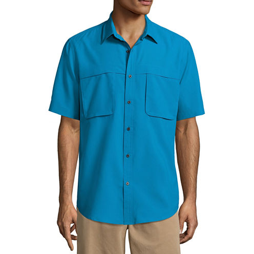 St. John's Bay Terra Tek Comfort Stretch Quick Dry Shirt