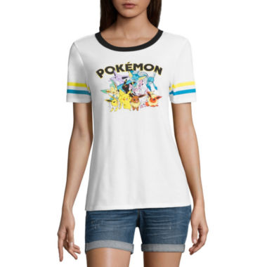 jcpenney.com | Short Sleeve Scoop Neck Pokemon Graphic T-Shirt