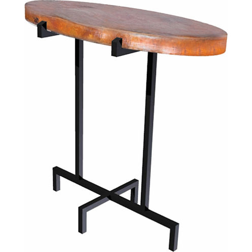 Knox And Harrison Oval Chairside Table